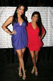 Khloe and Kourtney Kardashian at the The Trevor Project, a nonprofit organization, April 3, 2008