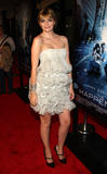 Mischa Barton shows nice cleavage at The Happening film premiere in NY
