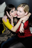 Lizzy Caplan & Kirsten Dunst - BCDF Sundance Cocktail Party - Jan 22, 2012 (x3)