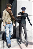 Victoria And David Beckham Shopping In Madrid, 8 march
