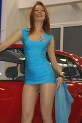 Car show girls