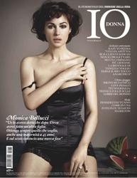 Monica Bellucci shows cleavage in Io Donna Italy - Hot Celebs Home