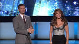 Paula Abdul - Great Cleavage on American Idol Gives Back - 4-25-07