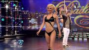 Melina Greco desfila en el Bailando