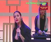 Ana Malhoa super sensual a cantar na Sic