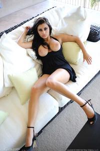 Alexa Loren In A Little Black Dress