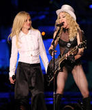 *HQ ADDS* Britney Spears Performs with Madonna at Dodger Stadium in LA 11/06/08